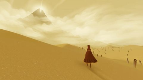 """""""Journey"""" is beautifully rendered, with Zen-like landscapes that will leave you breathless, reviewer Larry Frum says."""