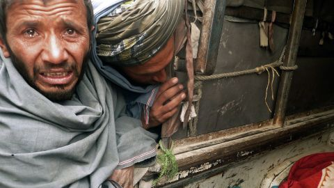Afghans react to the massacre of 16 civilians on Sunday, including nine children and three women.