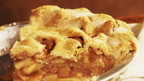 Hello, delicious! A slice of apple pie has about 410 calories. Is it worth the 45 minutes of Zumba needed to work it off?