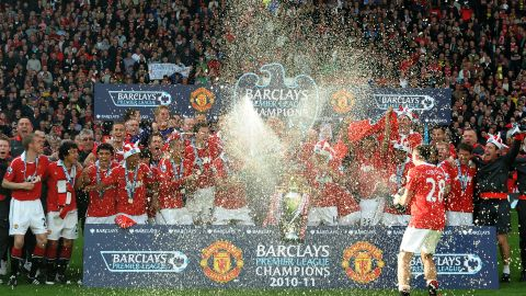 The champagne and the revenues continue to flow for English Premier League champions Manchester United, one of the highest-earning clubs in world football.