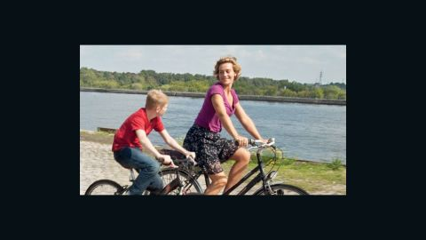 """Thomas Doret and Cecile De France star in """"The Kid with a Bike."""""""