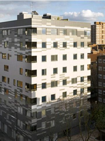 Currently one of the tallest modern wooden buildings, this nine-story residential block in London proves the potential of wood.