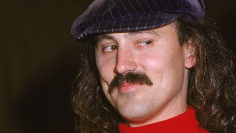 Comedian Gallagher, seen in a 1980 photo, says he's suspending club appearances to work on other projects.
