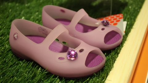 The company also offers a wide variety of kids' shoes, not just the kids' clogs that were popular with parents and helped made Crocs a household name in the United States.