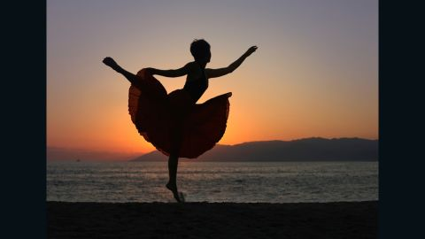 """""""You have to give your heart to dancing; otherwise, you're just going through the motions."""""""