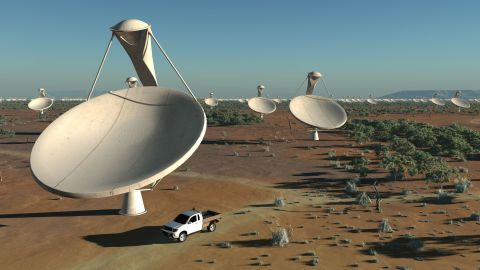 """Each antenna dish will measure around 15 meters across. A dense cluster of dishes will sit in a """"central core region"""" with others spread out over an area over at least 3,000 kilometers."""