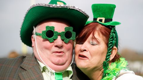 You're supposed to wear green to avoid getting pinched by a leprechaun.