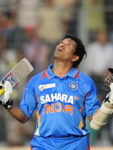 """Tendulkar cemented his place in history when in March he became the first cricketer to score 100 international centuries. The 39-year-old insists cricket will remain his priority, adding: """"I have been nominated because I am a sportsman and not a politician."""""""