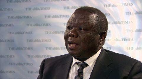 ctw intv Morgan Tsvangirai zimbabwe pm_00002807