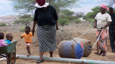 """Around 38,000 Hippo Rollers have been distributed over the past 15 years helping over a quarter of a million people, according to <a href=""""http://www.hipporoller.org/"""" target=""""_blank"""" target=""""_blank"""">hipporoller.org</a>."""