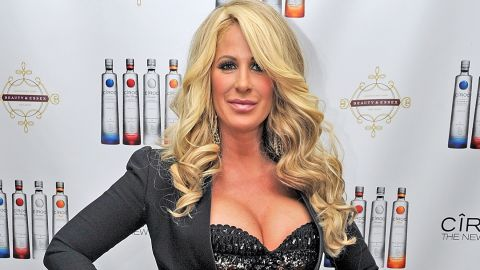 """""""Real Housewives of Atlanta"""" star Kim Zolciak was accused of being tardy with the money in March 2013 by fellow cast member Kandi Burruss and producer Don Vito. The pair accused her of denying them payment and rights to her single """"Tardy for the Party."""" Zolciak <a href=""""http://www.prlog.org/12101795-press-statement-for-kim-zolciak-biermann-star-of-the-real-housewives-of-atlanta-by-mike-paul.html"""" target=""""_blank"""" target=""""_blank"""">released a statement denying the claims.</a>"""