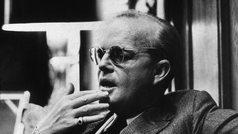 Personal effects and the ashes of famed author Truman Capote sold at auction in Los Angeles.