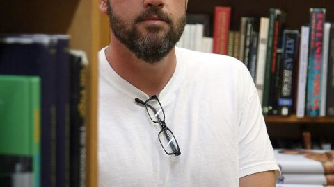"""James Frey: The author of """"A Million Little Pieces"""" found himself in the crossfire after The Smoking Gun determined he had fabricated parts of his memoir, which had been chosen for Oprah's Book Club."""