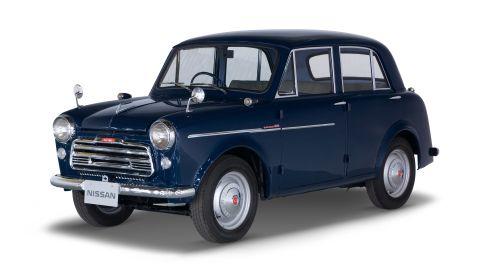 The Datsun 1000 Sedan Model 210, introduced in October 1957. The next year, the Datsun brand is introduced to the U.S. market.