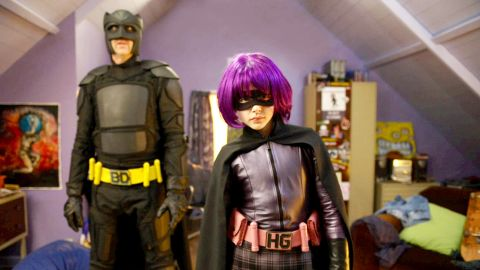 """While most of """"Kick A**"""" (2010) focuses on the title character, Chloe Moretz's portrayal of Hit-Girl, the violent and cussing 11-year-old vigilante, raised eyebrows and brought recognition to the young actress. For her breakthrough performance, Moretz went on to receive many award nominations and won some of them."""