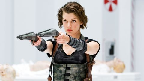 """Based on the survival horror video games, """"Resident Evil"""" (2002) follows Alice, played by Milla Jovovich, and a group of commandos who try to contain a virus that creates flesh-eating creatures. The film was <a href=""""http://boxofficemojo.com/franchises/chart/?id=residentevil.htm?cnn=yes"""" target=""""_blank"""" target=""""_blank"""">a commercial success</a> and led to three sequels. The fifth installation, """"Resident Evil: Retribution,"""" is set to release in 2012."""