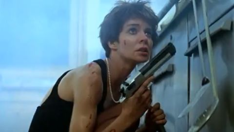 """Anne Parillaud played Nikita, a felon turned stylish assassin for the government in the French film """"La Femme Nikita"""" (1990). Directed by Luc Besson, the movie became a <a href=""""http://boxofficemojo.com/movies/?id=lafemmenikita.htm?cnn=yes"""" target=""""_blank"""" target=""""_blank"""">box office hit</a>. It inspired an American remake called """"Point of No Return"""" (1993) starring Bridget Fonda and two TV series."""