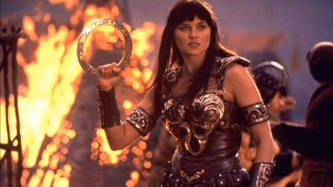 """Lucy Lawless found fame on TV as the force of nature that was """"Xena, Warrior Princess."""""""