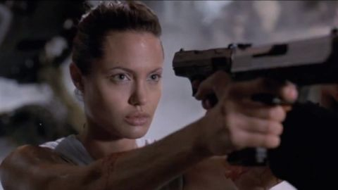 """Angelina Jolie brought the adventurer Lara Croft from video game to life in the film adaptation, """"Lara Croft: Tomb Raider"""" (2001). In the movie, Croft fights to recover an ancient artifact called the Triangle from villains who want to control time and space. Jolie's action-packed performance received praise and led to the sequel """"Lara Croft Tomb Raider: The Cradle of Life"""" in 2003."""