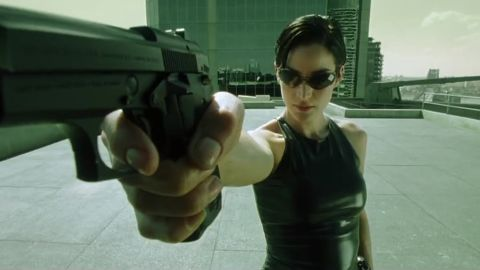 """Neo may have been """"The One"""" to lead the rebellion against the machines controlling humans in """"The Matrix"""" (1999), but he certainly got a lot of help from Trinity. In the movie, Trinity, played by Carrie-Ann Moss, is also a hacker who helps free Neo from the Matrix and saves Neo many times with her martial arts and gun skills."""