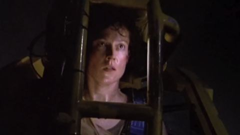 """In """"Alien"""" (1979), Sigourney Weaver starred as Lt. Ellen Ripley, a warrant officer who fights against an extraterrestrial creature that is killing off the crew on a space mining ship. The character was so popular that it spawned sequels, comic books and video games and <a href=""""https://www.cnn.com/2012/03/22/showbiz/gallery/tough-action-heroines/index.html"""">broke down gender barriers in the action/sci-fi genre</a>. She went on to receive an Oscar nomination for best actress for the sequel """"Aliens"""" in 1986."""