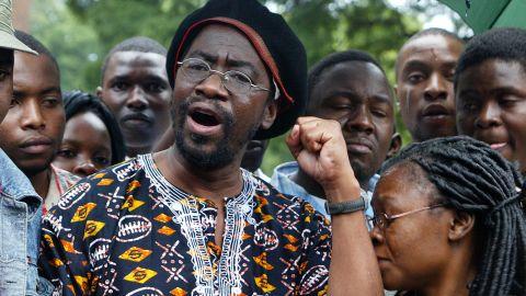 Human rights activist Munyaradzi Gwisai was one of six Zimbabweans fined $500 for watching Arab Spring videos.