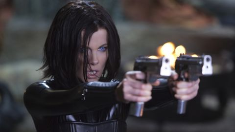 """In """"Underworld"""" (2003), Kate Beckinsale starred as Selene, a vampire warrior who falls in love with a werewolf while caught in a war between vampires and werewolves. The fourth film of the series, """"Underworld: Awakening,"""" was released on January 20."""