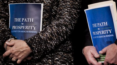 """House Republicans introduced a new budget plan this week called """"The Path to Prosperity."""""""