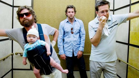 """<strong>""""The Hangover"""" (2009)</strong>: Todd Phillips first """"Hangover"""" installment was an outlandish breath of fresh air when it bowed in June 2009. Between Mike Tyson's appearance, a tiger and a baby, the adventures of this group of friends in Vegas for a bachelor party have become legendary."""