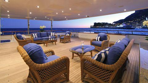 Below deck, Laurel is designed to exude a calssic aesthetic.