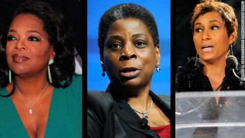 Oprah Winfrey, Ursula Burns and Desiree Rogers are a few black women CEOs featured on the list.