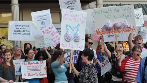 Protesters have taken to the streets in reaction to what they see as an assault on their reproductive rights.