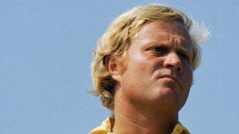 """Nicklaus was nicknamed the """"Golden Bear"""" because of his blond hair and initially hefty physique, but he trimmed down as his career progressed."""