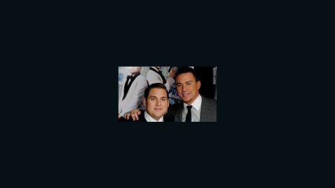 """Jonah Hill and Channing Tatum at the """"21 Jump Street"""" premiere."""