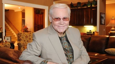 Country music legend George Jones has been hospitalized in Nashville.