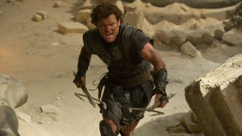 "Sam Worthington stars in ""Wrath of the Titans."""
