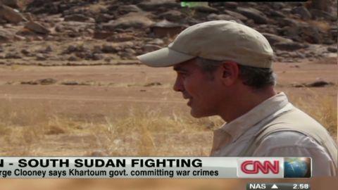 brief intv sudan george clooney _00010322