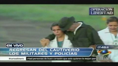 romo colombia hostages freed_00003407