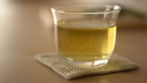 """Staying hydrated will keep you from munching absentmindedly, and if you choose to drink <a href=""""http://www.webmd.com/food-recipes/features/health-benefits-tea"""" target=""""_blank"""" target=""""_blank"""">green tea</a>, you'll also be increasing your metabolism, which will burn more fat. Plus, the antioxidants (yes, those again) found in green tea can help prevent cancer."""