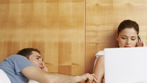 The distracting presence of smartphones and other gadgets can put a damper on intimacy and relationships.