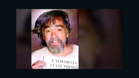 Manson is seen slightly disheveled in this 2006 prison  photo.
