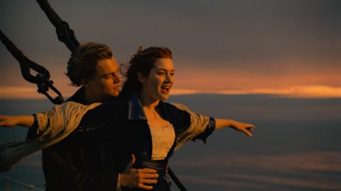"""Leonardo DiCaprio and Kate Winslet first appeared together in James Cameron's """"Titanic"""" in 1997. The pair, who are friends off-screen, starred alongside each other again in 2008's """"Revolutionary Road."""" Winslet's then-husband, Sam Mendes, directed the film."""