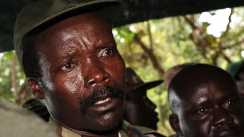 """Militant leader Joseph Kony, shown in a 2006 photo, is the subject of the viral video """"Kony 2012"""""""