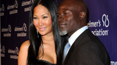 Hounsou, a former model in Paris, is married to Kimora Lee Simmons, well-known in her own right for her career in the fashion industry.