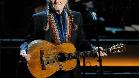 Willie Nelson performs at the opening night of The Smith Center for the Performing Arts on March 10, 2012 in Las Vegas.