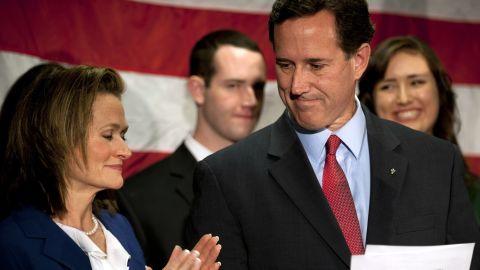 Rick Santorum on April 10 announced he was suspending his presidential campaign.
