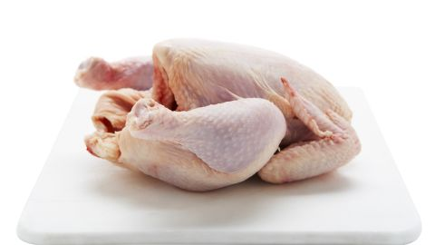 """In 2013, Foster Farms chicken infected 634 people in 29 states with a multidrug-resistant strain of Salmonella, according to the <a href=""""http://www.cdc.gov/salmonella/heidelberg-10-13/index.html"""" target=""""_blank"""" target=""""_blank"""">CDC</a>. Of the 634 cases, 38% involved hospitalization."""