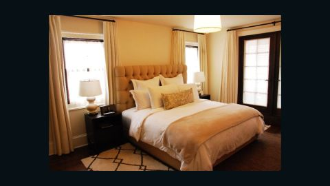 """""""It's just a relaxed place,"""" said Lowell of the eight-bedroom hotel."""