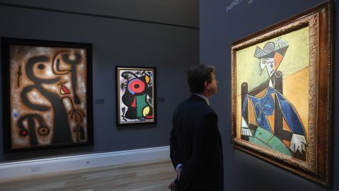 """Among the other high-profile works to go under the hammer in Sotheby's Impressionist and Modern Art sale is Pablo Picasso's portrait of Dora Maar, """"Femme assise dans un fauteuil,"""" which is expected to sell for between $20 and $30 million."""
