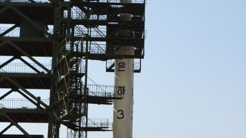 Extra images of the UNHA III rocket on it's launch pad in Tang Chung Ri North Korea